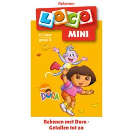 Loco Mini - groep 3 - Rekenen met Dora en Diego - getallen tot 20