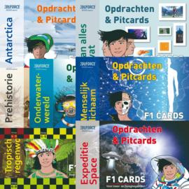 F1 cards - Opdrachten en pitcards (per  5 stuks)