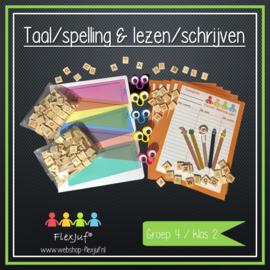 Taal/spelling & lezen/schrijven groep 4