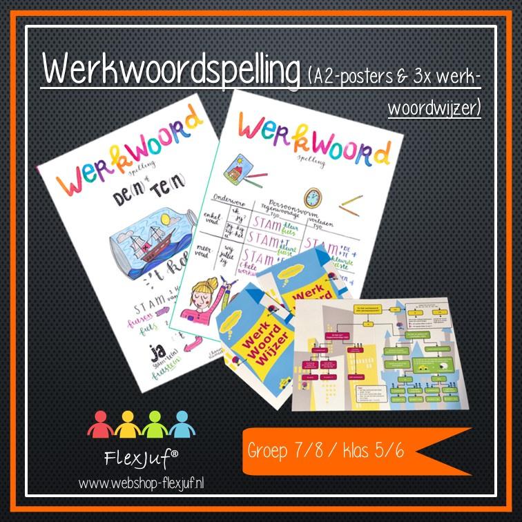 Instructieset Taal/(werkwoord)spelling groep 7/8