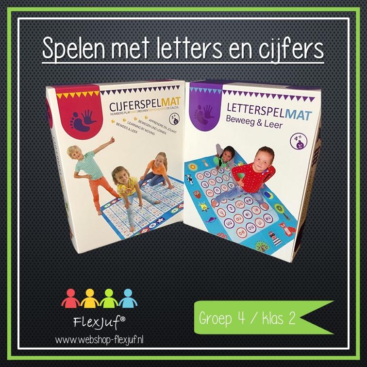Spelen met letters en cijfers