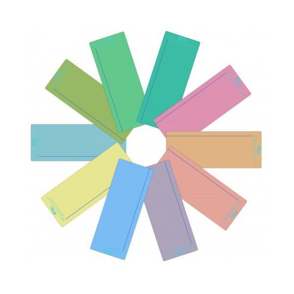 Gekleurde leeslinialen van Crossbow, set van 10 stuks