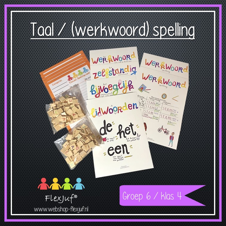 Instructieset Taal/(werkwoord)spelling groep 6