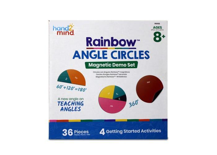 Graden cirkels, magnetisch (instructie set)