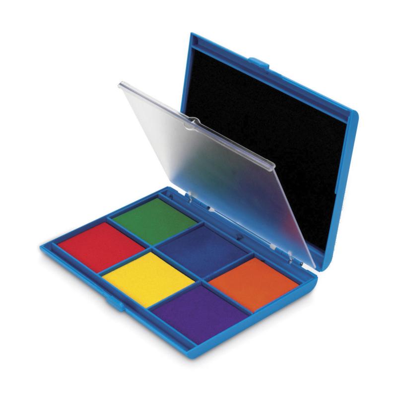 Stempel kussen 7 kleuren XL