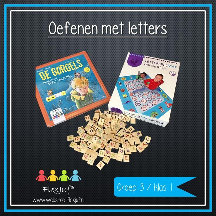 Oefenen met letters