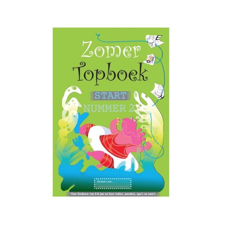 Zomer TOPboek - Start (groep 3) nummer 2