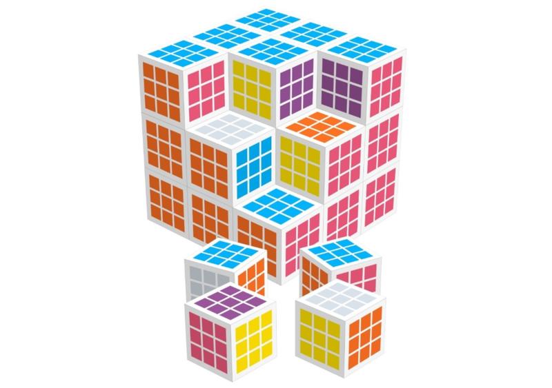 Fritzo - the Cube (27 kubussen)