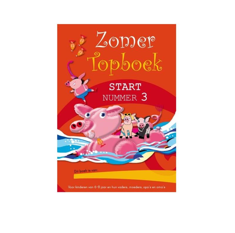 Zomer TOPboek - Start (groep 3) nummer 3