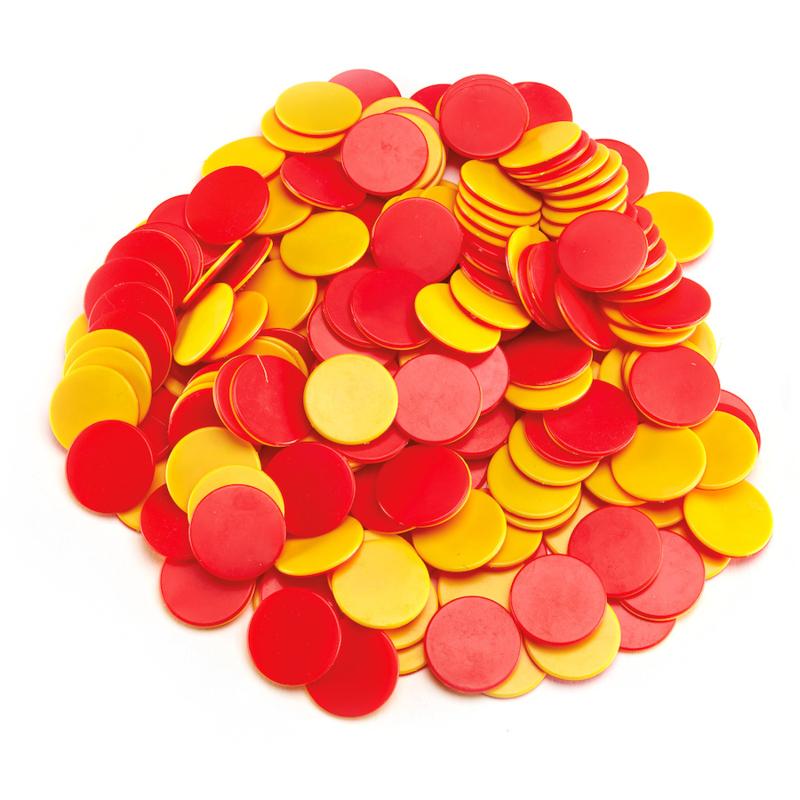 Rood-gele rekenfiches (SET van 120 st.)