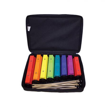 Rainbow buizen set (Diatonisch: 8 buizen)