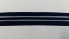 elastiek met lijnen