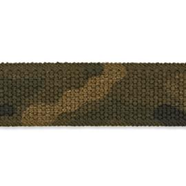 Tassenband camouflage groen