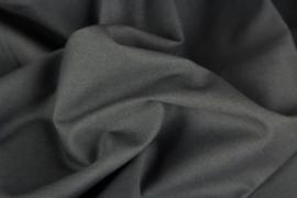 uni katoen antraciet grijs