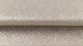 Tulle met zilveren glitters