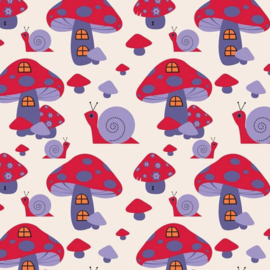 Copenhagen Print Factory Mushrooms