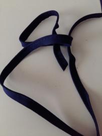 Paspel-lint katoen donker blauw
