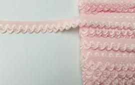 elastische kant roze