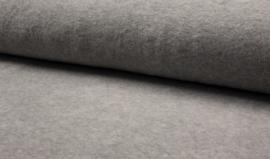 fleece melange grijs