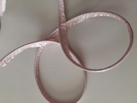 Paspel-lint kunstleer licht roze