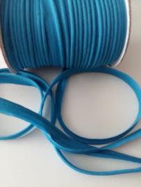Paspel-lint katoen azuur blauw