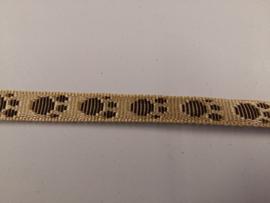 Tassenband nylon met pootjes