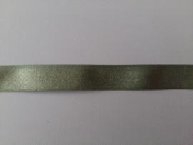 Satijn lint met lurex groen