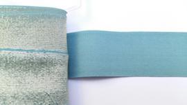 Glitterelastiek grijs/blauw