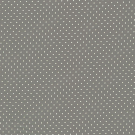 Polka dots licht grijs