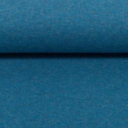 Melange tricot blauw