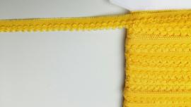 elastische kant geel