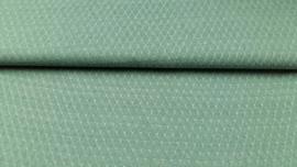 fijn gebreid tricot groen