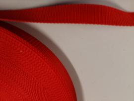Tassenband nylon rood