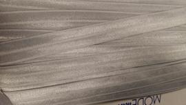 Elastische biais zilver