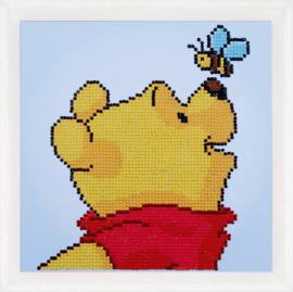 Diamond paint Winnie the pooh met bij