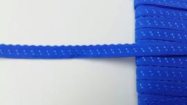 vouwkant elastiek blauw