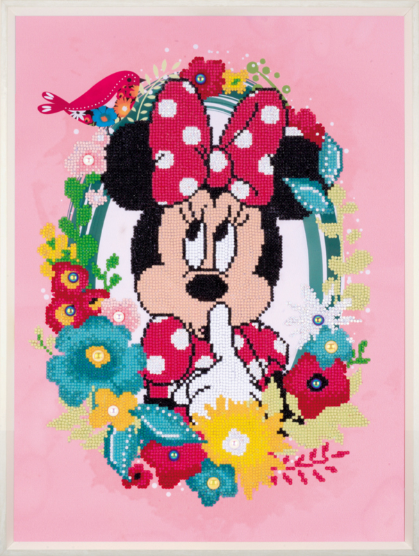 Diamond painting Minnie mouse Ssscht