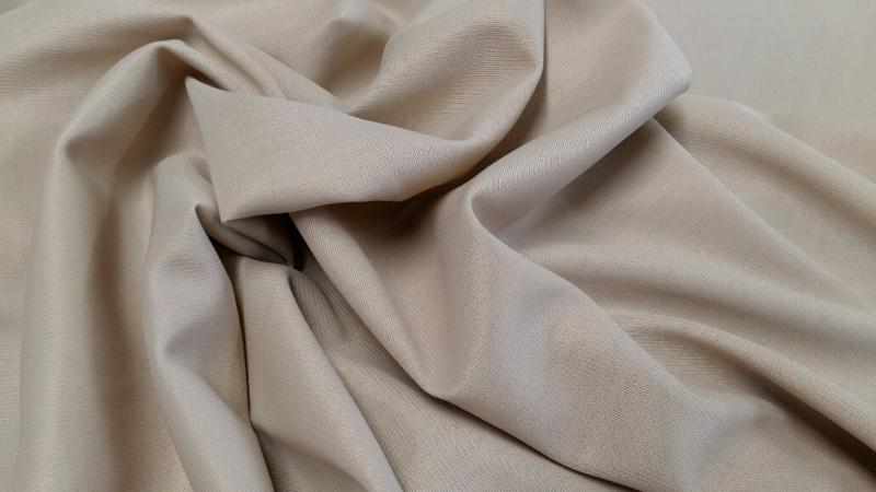 Polino tricot voering licht grijs