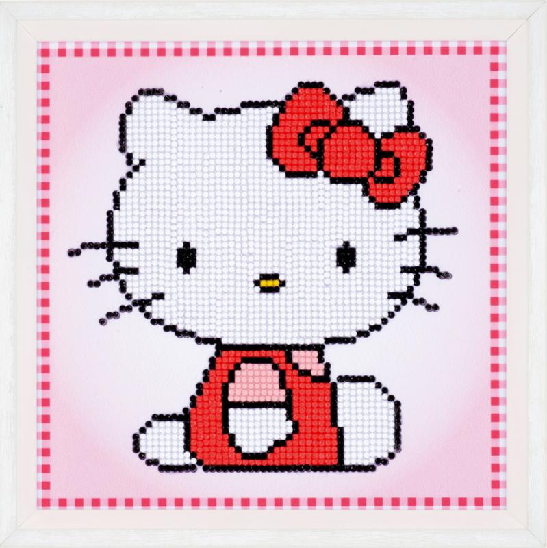Diamond paint Hello Kitty