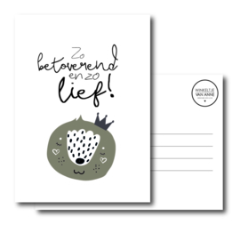 Zo betoverend en zo lief!   Postcard