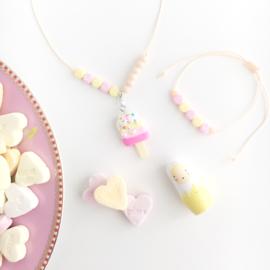 """Necklace candy """"Ijslollie met naam"""""""