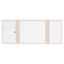 Deskplanner - Ivory