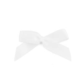 Witte zelf plakkende strik