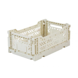 Folding Crate – Mini Light grey