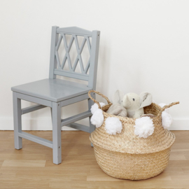 Belly Basket - white