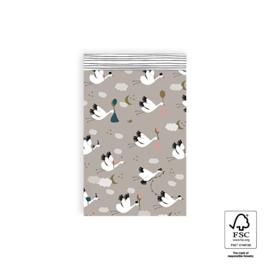 Inpakzakken - Baby Bird - 12x19 cm