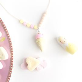 """Necklace candy """"Ijshoorn met naam"""""""