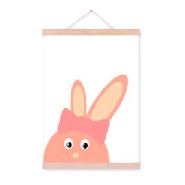 Cutie rabbit poster