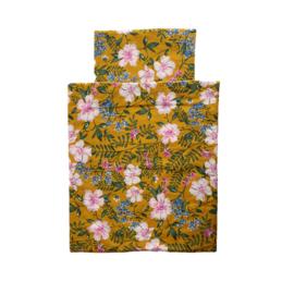 Poppen deken flower