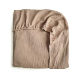 Extra Soft Muslin Crib Sheet (Natural)